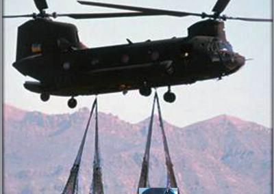 EZPack™ Bladder Air Lifted by Chopper