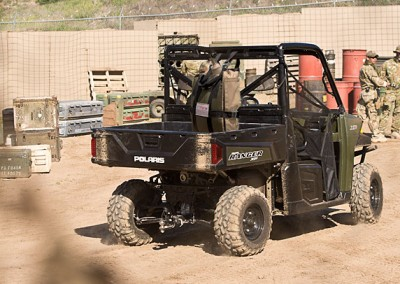 Polaris ATV with JerryFlex™