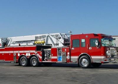 EZPack™ Bladder Stored in Fire Truck
