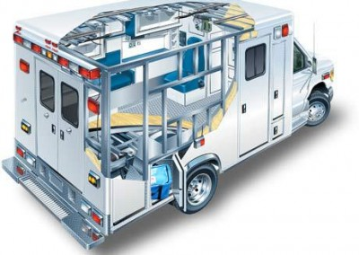 EZPack™ Bladder Stored in Ambulance