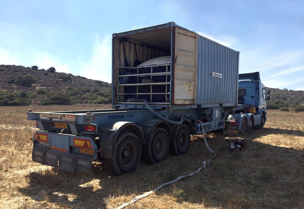 FlexCon™ 24 – 24 CBM Water Storage Kit for 20' Container